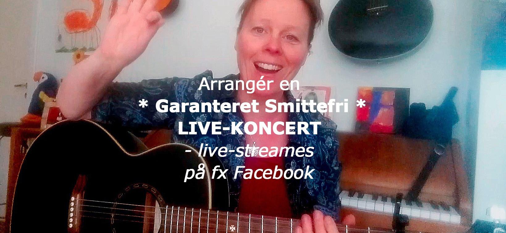 Live-streamet online-koncert med singer-songwriter June Beltoft